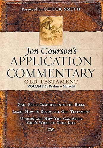 Jon Courson's Application Commentary on the Old Testament